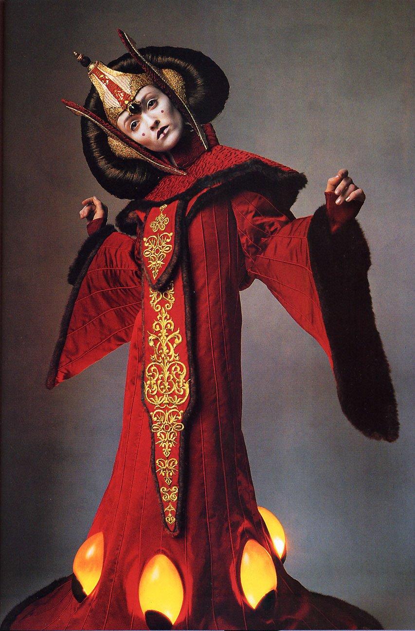 Natalie portman in star wars style inspiration drifter - Princesse amidala star wars ...